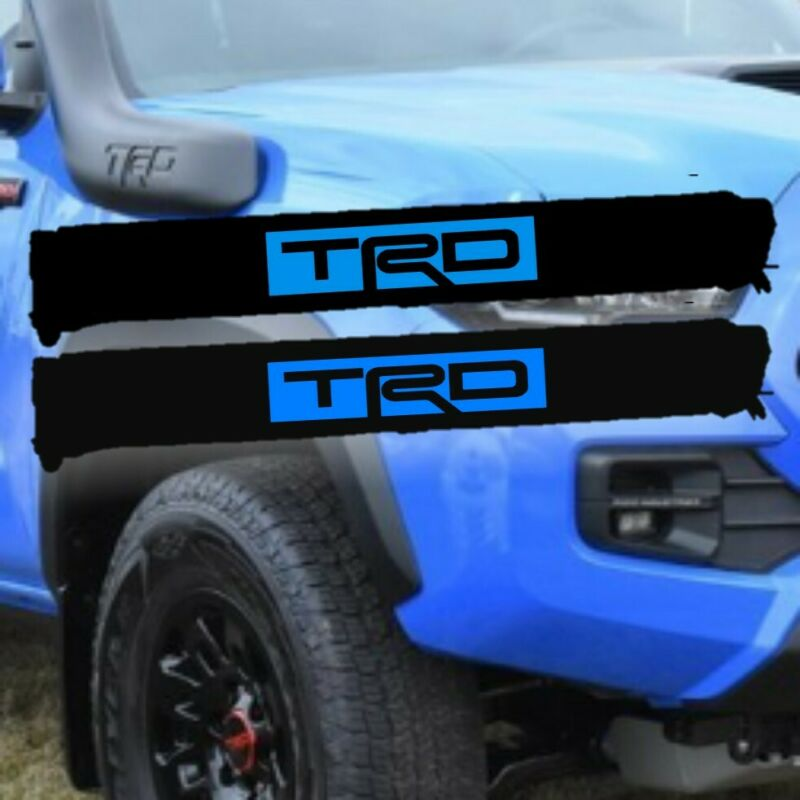 Roof Rack Pads TRD BLUE
