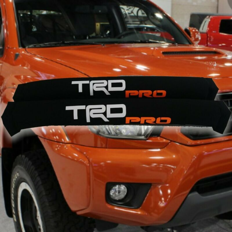 Roof Rack Pads TRD PRO 30 inches Orange PRO Lettering