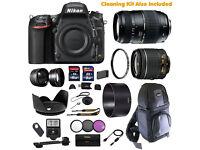 Nikon D750 DSLR Camera + Multi Lens Super Bundle