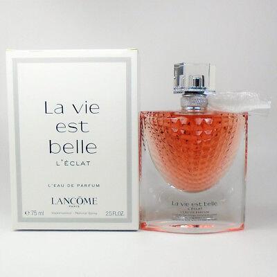 La Vie Est Belle L'Eclat by Lancome EDP for Women 2.5oz / 75ml *NEW TST BOX*