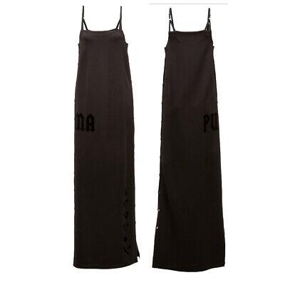 Puma x Rihanna Fenty Womens Tearaway Maxi Dress Black 573368 01 A69D