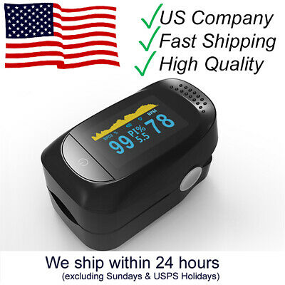Fda Ce Certifiedpulse Oximeter Fingertipblood Oxygen Saturation Monitor