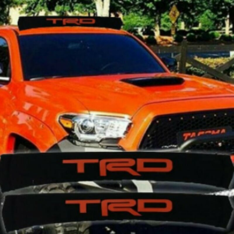 Roof Rack Pads TRD Orange lettering