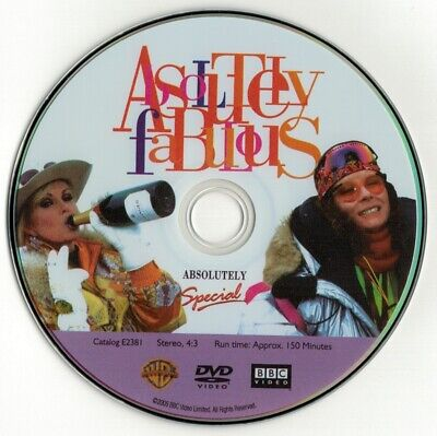 Absolutely Fabulous - Absolutely Special (DVD disc) Jennifer Saunders