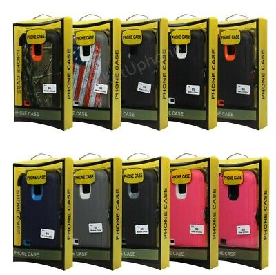 For Samsung Galaxy S5 w/Screen Built In Case [Belt Clip Fits Otterbox Defender]