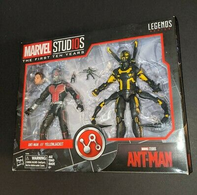 "Marvel Legends 6"" MCU Studios First Ten Years Ant-Man Yellow Jacket Figure 2-Pk"