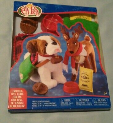 New Elf On The Shelf - Elf Pets Good Tidings Toy Tote & Scarf Plus More