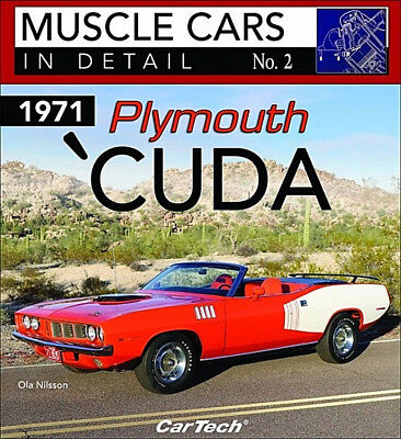 Muscle Cars In Detail No.2  1971 Plymouth 'Cuda - Book CT576