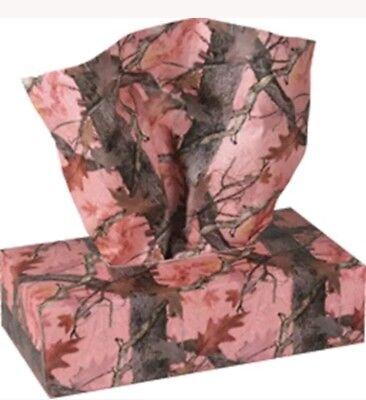 Pink Tissue Box (Pink Camo Box Tissue  1 Box  )