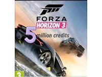 Xbox one Forza Horizon 3 credits