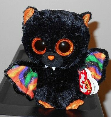 Ty Beanie Boos ~ SCAREM the Halloween Bat (6 Inch) NEW MWMT