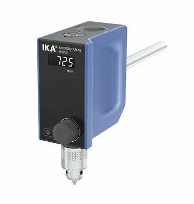 New Ika Microstar 15 Digital Overhead Stirrer 50 - 1000rpm 10lt Max 25004883