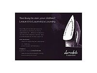 IRONING, DRY CLEANING, SEWING - LAVENDULA LAUNDRY-FREE COLLECTION & DELIVERY SERVICE-HOME OR OFFICE