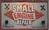 Lawn mower, chainsaw, trimmer, etc... Repairs