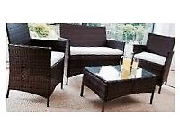 Rattan furniture for patio/conservatory