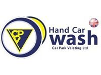 Expirenced Hand Car Wash Staff Nedded