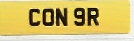 Cherished Private Plate Bargain!! CONOR/CON9R! Amazing investment opportunity