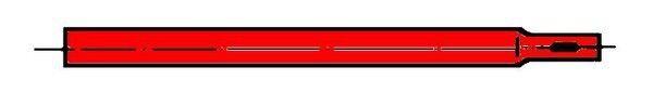 Zwischenstück 100 cm x 22 mm, Verlängerung Zeltstange…  