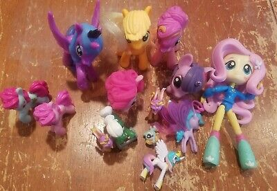 Lot of My Little Pony Figure Toys