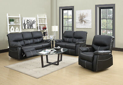 Loveseat Chaise Couch Recliner Sofa Chair Leather Accent Chair Pr