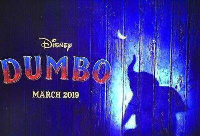 Dumbo 2019 Disney Original UK Quad Cinema Poster