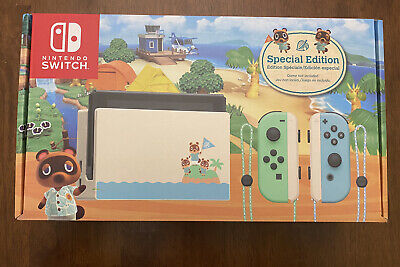 Nintendo Switch Animal Crossing New Horizons Console New IN HAND SHIPS FAST!