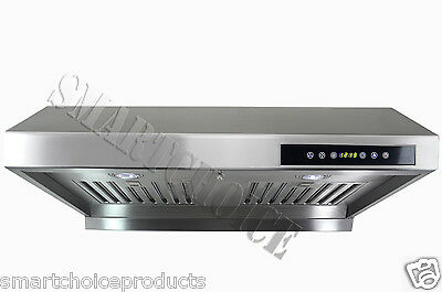 "GTC New 30"" Under Cabinet Stainless Steel Range Hood S1802 Powerful Ventilation on Rummage"