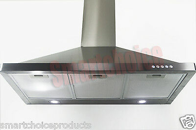 "GTC Europe 36"" Kitchen Wall Mount Stainless Steel Range Hood S63190 Stove Vents on Rummage"