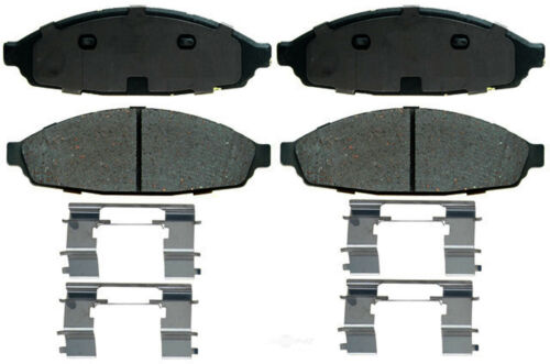 Disc Brake Pad Set-Ceramic Front ACDelco Pro Brakes 17D1160CH