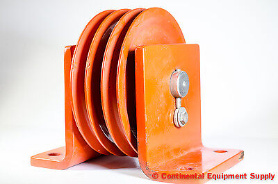 Jeamar Winches Dual 8 Sheave Vbd10500 Vertical Direction Block Pulley