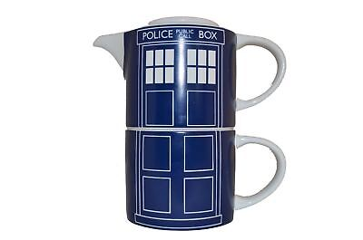 Doctor Who Tardis Teapot & Mug for One Set - NEW