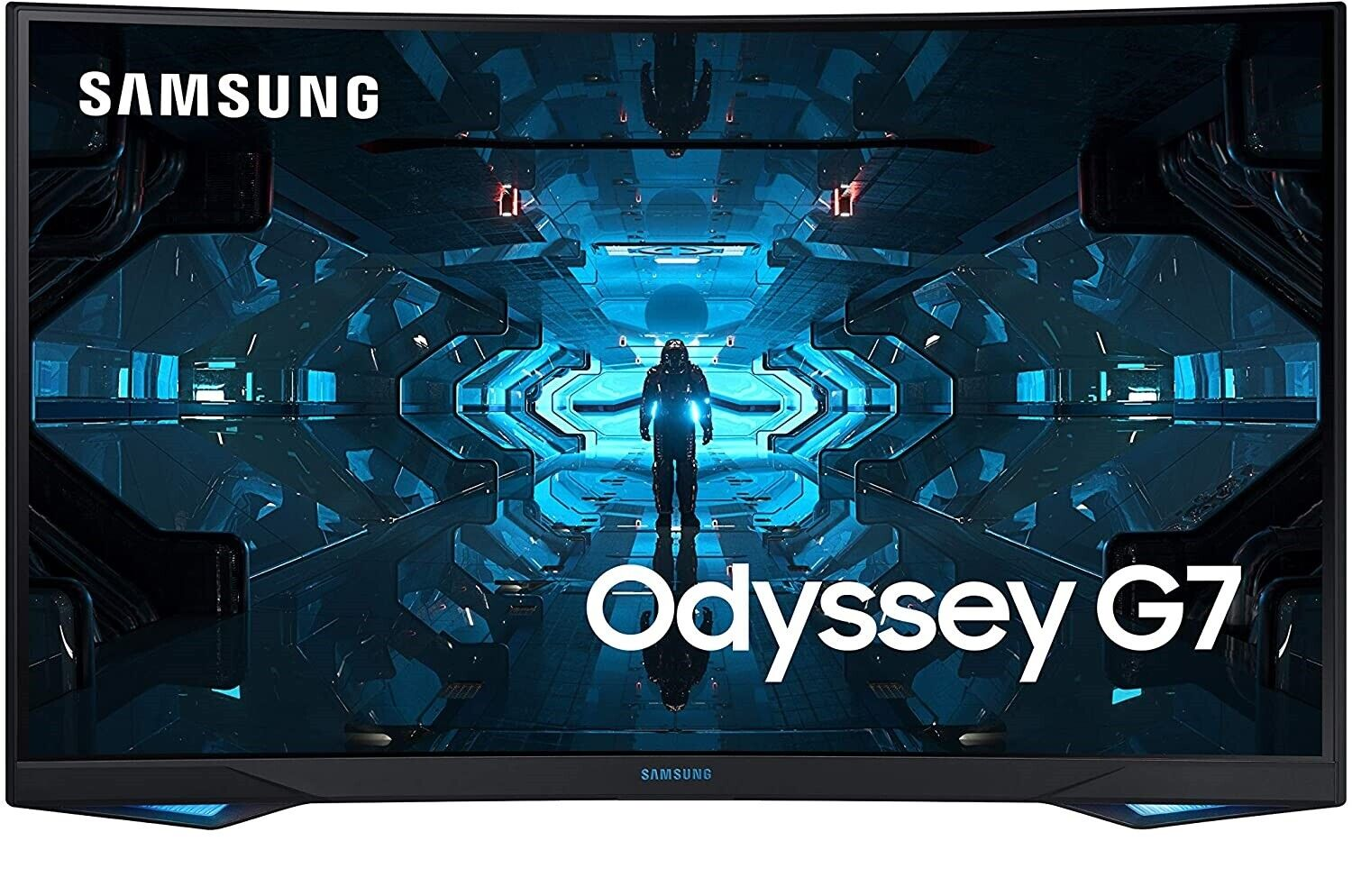 """Samsung LC32G75TQSNXZA 32"""" Odyssey G7 Gaming Curved Monitor"""