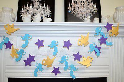 Princess Jasmine Decorations (Princess Jasmine Birthday Party decor, Aladdin Magic Lamp, Princess room)