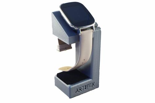 ASUS Zenwatch 2 Charging cradle watch stand by Artifex Design STAND ONLY(Silver)