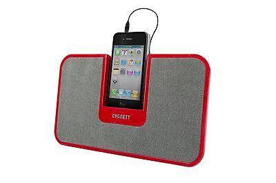 Cygnett Speaker Stand for Smartphones (Red)