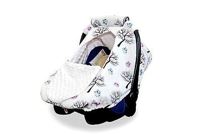 Baby Car Seat Cover Carseat Canopy for All Seasons Windproof, Breathable