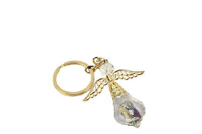 Keychain Glass Holy Communion Girl Figure Gift Box/Party -