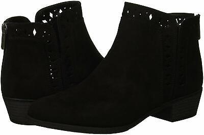 Indigo Rd. Womens Cadelen Fabric Closed Toe Ankle Fashion Boots, Black, Size 8.0