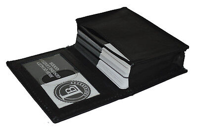 CREDIT CARD ID BUSINESS CARD MONEY HOLDER NEW BLACK