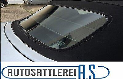 BMW Z3 Cabrio Heckscheibe mit Reißverschluss PVC Flexglas