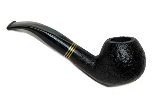"""MOVING SALE! Wessex Italy Briar Tobacco Pipe Blasted 5.75"""" Bent #W02"""