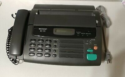 Sharp Ux-176 Fax Machine Phone