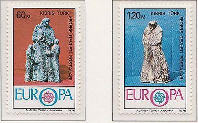 Europa CEPT 1976 Ambachten Turks Cyprus 27-28 - Postfris  MNH