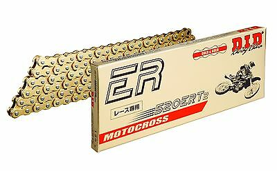 DID GOLD ERT2 CHAIN 520 X 120 CRF, KXF, RMZ, YZF 250, 450 Dirt Bike MX Motocross