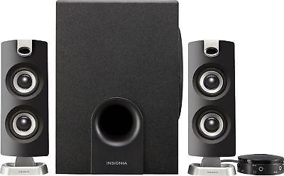 Insignia Ns Psb4721   2 1 Bluetooth Speaker System  3 Piece    Black