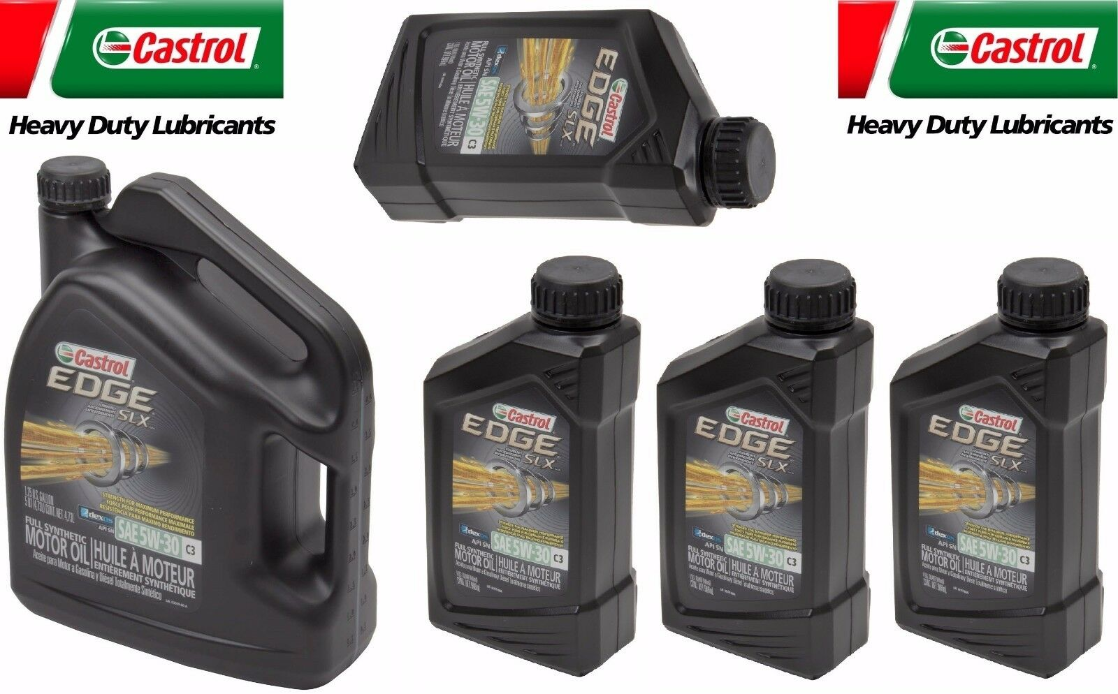 9 quarts 5w30 castrol edge c3 slx full synthetic engine. Black Bedroom Furniture Sets. Home Design Ideas