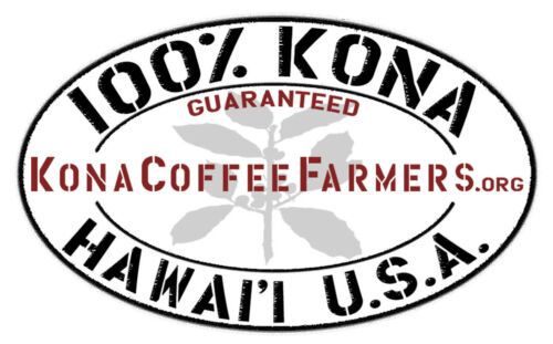 100% Hawaiian / Kona Coffee Whole Beans Medium Roasted Daily 6 - 1 Pound Bags