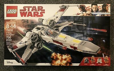 LEGO 75218 Star Wars X-Wing Starfighter Luke Biggs Brand New Sealed Free Shpping