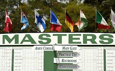 1 of 2~2019 MASTERS GOLF TICKETS/BADGES~SUNDAY 4/14/19~SAVE $$$$$$ 2pm Pick Up