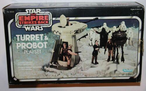 Star Wars Empire Strikes Back Turret & Probot Playset 1980 Kenner 38330 Complete